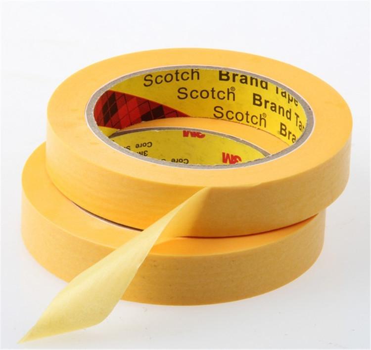 50 Meters High Temperature Resistant 3M™ 244 Performance Masking Tape